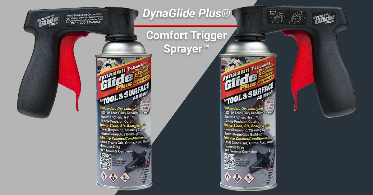DynaGlide Plus® Comfort Trigger Sprayer™ for all Aerosols